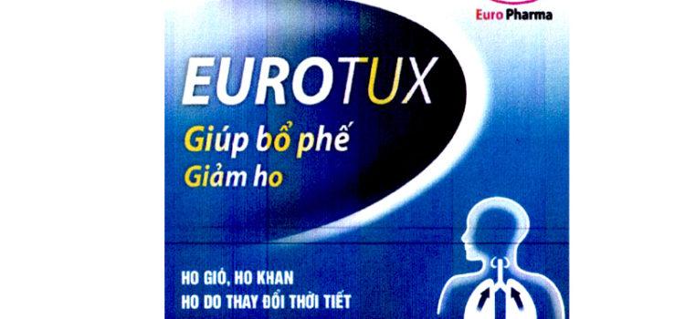 Eurotux Bổ phế, giảm ho