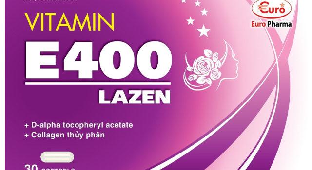 VITAMIN E400 LAZEN: Bổ Sung Vitamin E