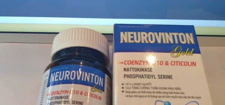 NEUROVINTON Gold – Hỗ trợ hoạt huyết, tăng cường tuần hoàn máu não.